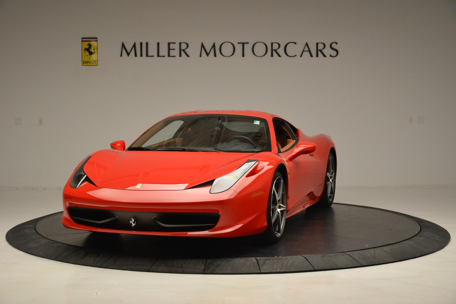 Used 2014 Ferrari 458 Italia for sale Sold at Pagani of Greenwich in Greenwich CT 06830 1