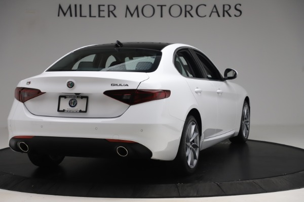 New 2019 Alfa Romeo Giulia Q4 for sale Sold at Pagani of Greenwich in Greenwich CT 06830 7