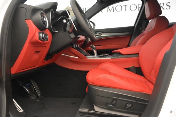 New 2019 Alfa Romeo Stelvio Ti Sport Q4 for sale Sold at Pagani of Greenwich in Greenwich CT 06830 14