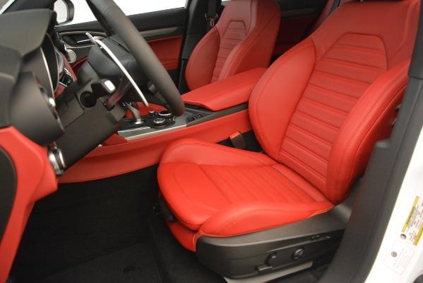 New 2019 Alfa Romeo Stelvio Ti Sport Q4 for sale Sold at Pagani of Greenwich in Greenwich CT 06830 15