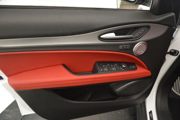 New 2019 Alfa Romeo Stelvio Ti Sport Q4 for sale Sold at Pagani of Greenwich in Greenwich CT 06830 17