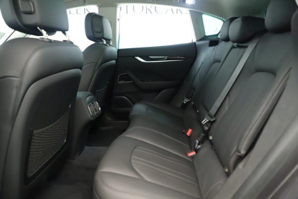 New 2019 Maserati Levante Q4 Nerissimo for sale $89,850 at Pagani of Greenwich in Greenwich CT 06830 19