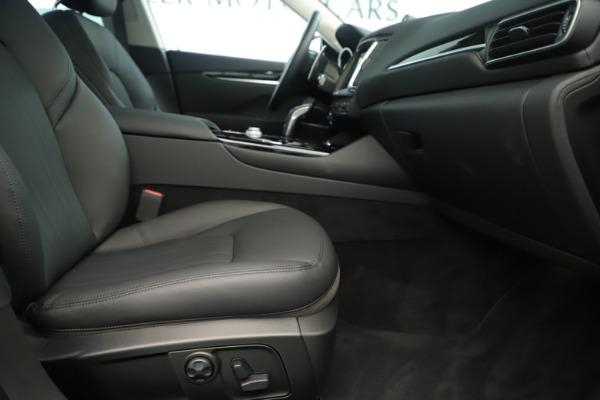 New 2019 Maserati Levante Q4 Nerissimo for sale $89,850 at Pagani of Greenwich in Greenwich CT 06830 23