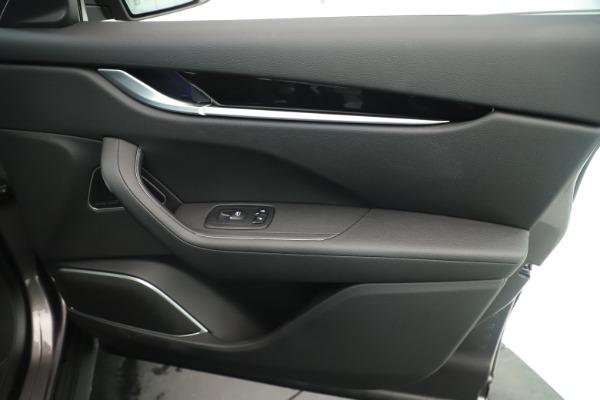 New 2019 Maserati Levante Q4 Nerissimo for sale $89,850 at Pagani of Greenwich in Greenwich CT 06830 25