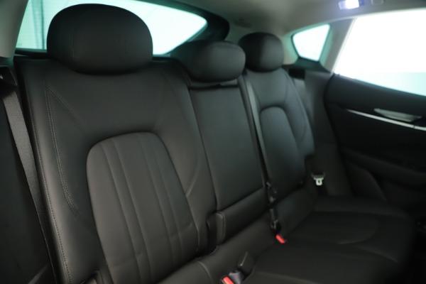 New 2019 Maserati Levante Q4 Nerissimo for sale $89,850 at Pagani of Greenwich in Greenwich CT 06830 26