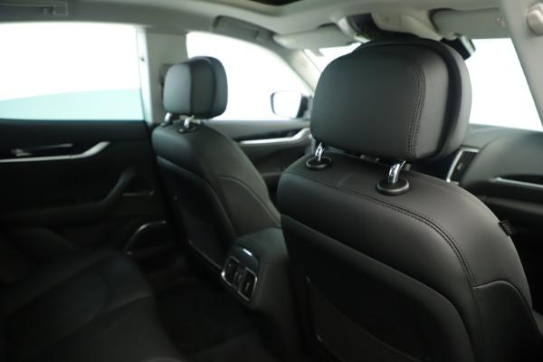 New 2019 Maserati Levante Q4 Nerissimo for sale $89,850 at Pagani of Greenwich in Greenwich CT 06830 28