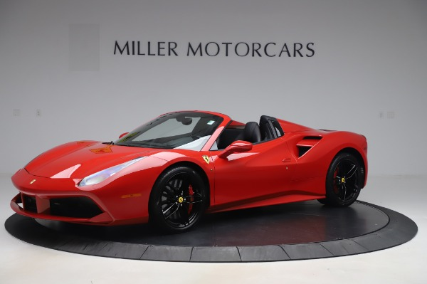 Used 2017 Ferrari 488 Spider for sale $275,900 at Pagani of Greenwich in Greenwich CT 06830 2
