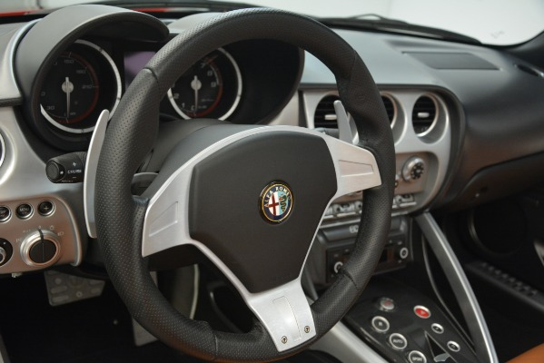 Used 2009 Alfa Romeo 8c Spider for sale Sold at Pagani of Greenwich in Greenwich CT 06830 24