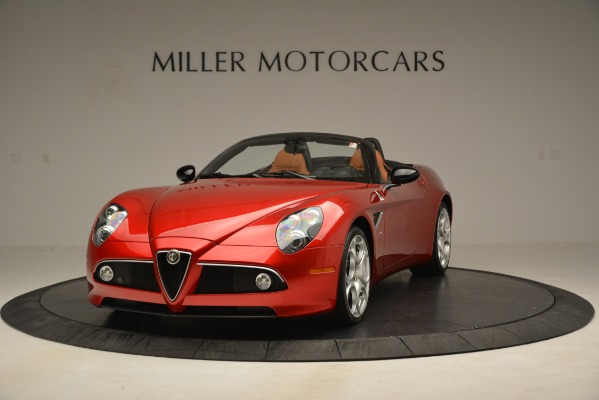 Used 2009 Alfa Romeo 8c Spider for sale Sold at Pagani of Greenwich in Greenwich CT 06830 1