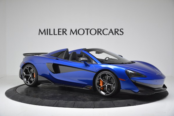 New 2020 McLaren 600LT SPIDER Convertible for sale Sold at Pagani of Greenwich in Greenwich CT 06830 10