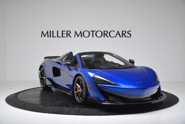 New 2020 McLaren 600LT SPIDER Convertible for sale Sold at Pagani of Greenwich in Greenwich CT 06830 11