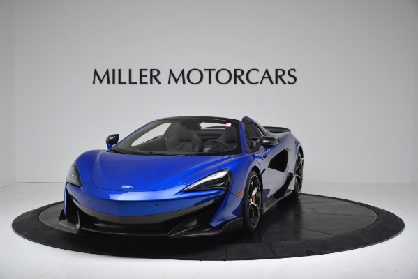 New 2020 McLaren 600LT SPIDER Convertible for sale Sold at Pagani of Greenwich in Greenwich CT 06830 2
