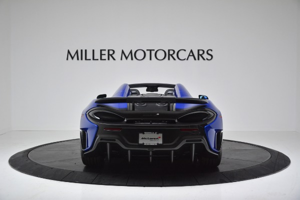 New 2020 McLaren 600LT SPIDER Convertible for sale Sold at Pagani of Greenwich in Greenwich CT 06830 6