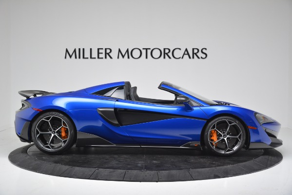New 2020 McLaren 600LT SPIDER Convertible for sale Sold at Pagani of Greenwich in Greenwich CT 06830 9