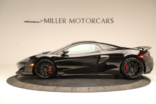 Used 2020 McLaren 600LT Spider for sale $249,900 at Pagani of Greenwich in Greenwich CT 06830 10