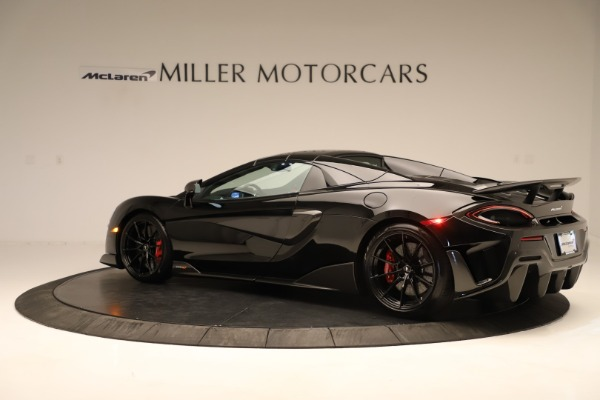 Used 2020 McLaren 600LT Spider for sale $249,900 at Pagani of Greenwich in Greenwich CT 06830 11