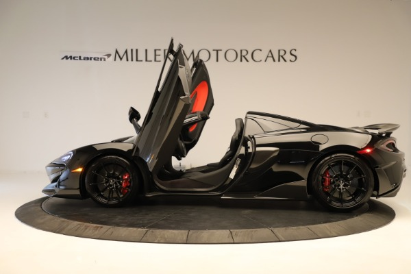Used 2020 McLaren 600LT Spider for sale $249,900 at Pagani of Greenwich in Greenwich CT 06830 18