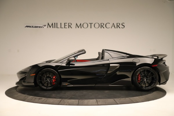 Used 2020 McLaren 600LT Spider for sale $249,900 at Pagani of Greenwich in Greenwich CT 06830 2