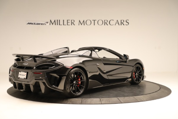 Used 2020 McLaren 600LT Spider for sale $249,900 at Pagani of Greenwich in Greenwich CT 06830 5