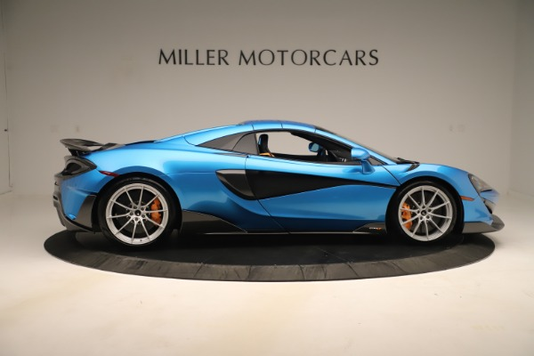 New 2020 McLaren 600LT SPIDER Convertible for sale Sold at Pagani of Greenwich in Greenwich CT 06830 15