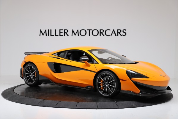 New 2019 McLaren 600LT Coupe for sale $279,310 at Pagani of Greenwich in Greenwich CT 06830 10