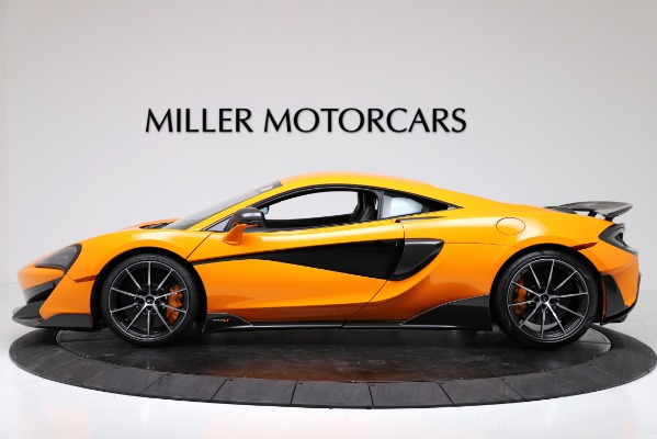New 2019 McLaren 600LT Coupe for sale $279,310 at Pagani of Greenwich in Greenwich CT 06830 3