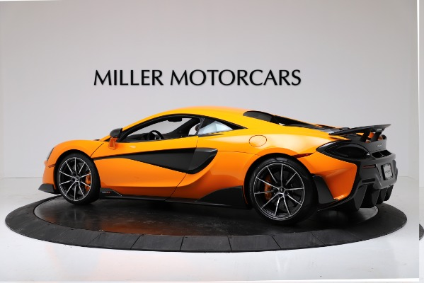 New 2019 McLaren 600LT Coupe for sale $279,310 at Pagani of Greenwich in Greenwich CT 06830 4