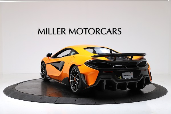 New 2019 McLaren 600LT Coupe for sale Sold at Pagani of Greenwich in Greenwich CT 06830 5