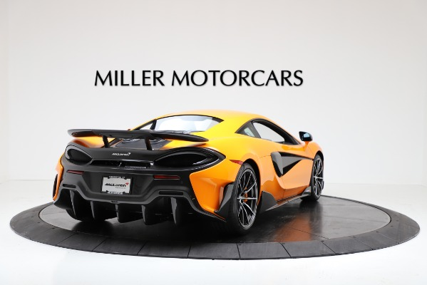 New 2019 McLaren 600LT Coupe for sale $279,310 at Pagani of Greenwich in Greenwich CT 06830 7