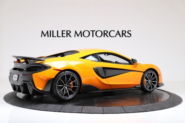 New 2019 McLaren 600LT Coupe for sale $279,310 at Pagani of Greenwich in Greenwich CT 06830 8