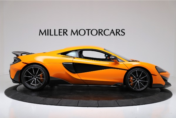 New 2019 McLaren 600LT Coupe for sale $279,310 at Pagani of Greenwich in Greenwich CT 06830 9