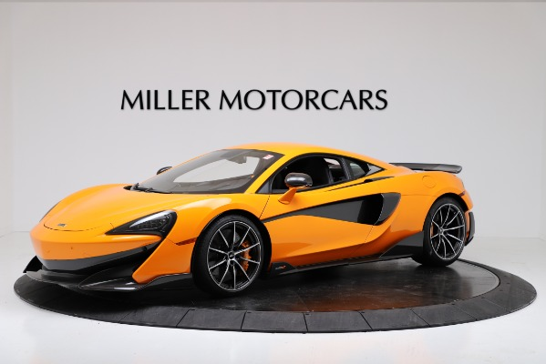 New 2019 McLaren 600LT Coupe for sale Sold at Pagani of Greenwich in Greenwich CT 06830 1