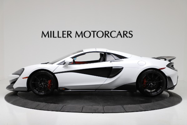 New 2020 McLaren 600LT Convertible for sale Sold at Pagani of Greenwich in Greenwich CT 06830 14