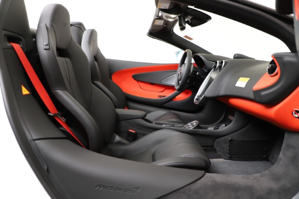 New 2020 McLaren 600LT Convertible for sale Sold at Pagani of Greenwich in Greenwich CT 06830 25
