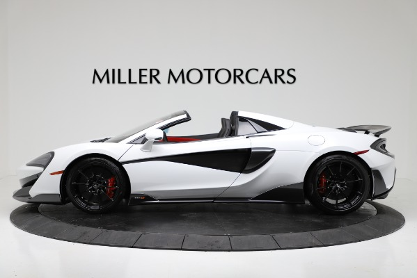New 2020 McLaren 600LT Convertible for sale Sold at Pagani of Greenwich in Greenwich CT 06830 3