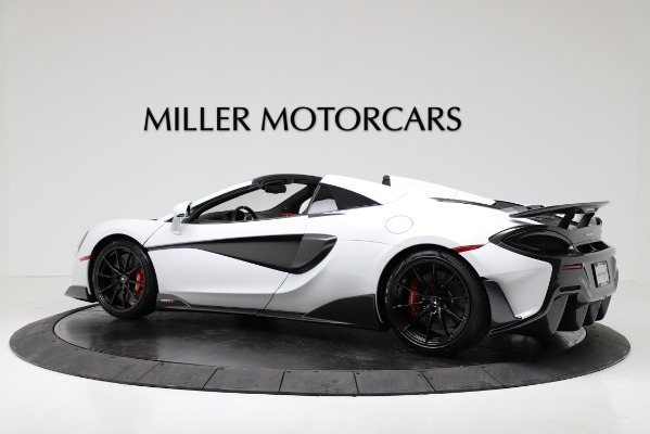 New 2020 McLaren 600LT Convertible for sale Sold at Pagani of Greenwich in Greenwich CT 06830 4