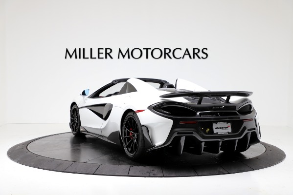 New 2020 McLaren 600LT Convertible for sale Sold at Pagani of Greenwich in Greenwich CT 06830 5