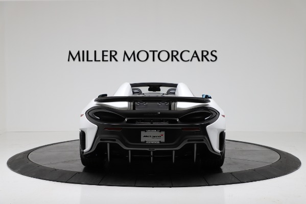 New 2020 McLaren 600LT Convertible for sale Sold at Pagani of Greenwich in Greenwich CT 06830 6