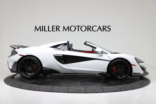 New 2020 McLaren 600LT Convertible for sale Sold at Pagani of Greenwich in Greenwich CT 06830 9