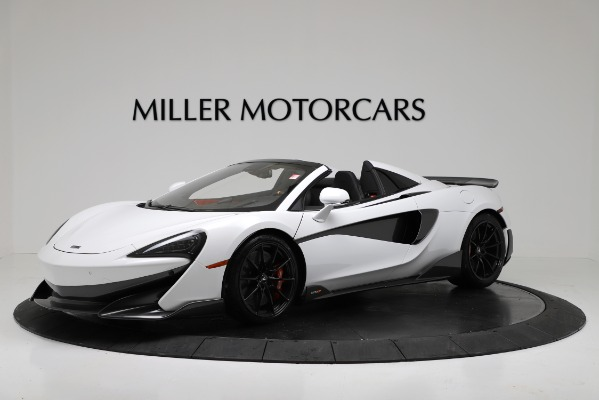 New 2020 McLaren 600LT Convertible for sale Sold at Pagani of Greenwich in Greenwich CT 06830 1