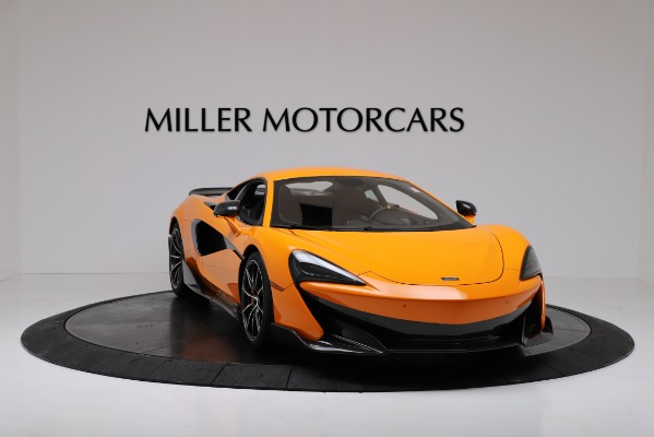New 2019 McLaren 600LT Coupe for sale $279,310 at Pagani of Greenwich in Greenwich CT 06830 11