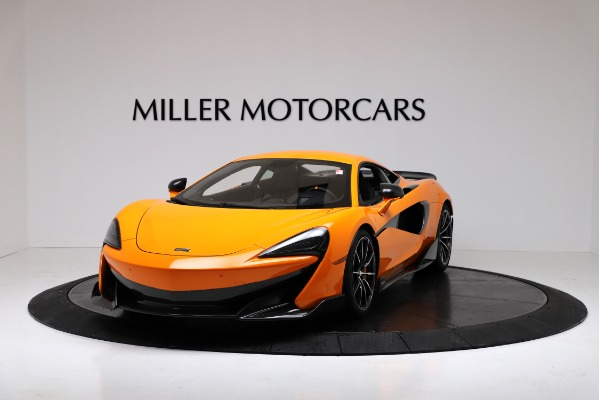 New 2019 McLaren 600LT Coupe for sale $279,310 at Pagani of Greenwich in Greenwich CT 06830 2