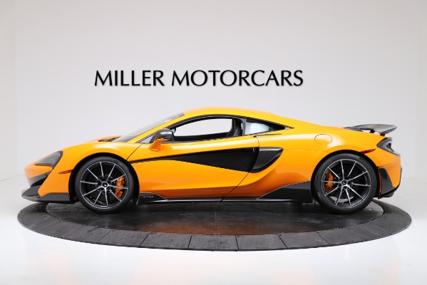New 2019 McLaren 600LT for sale $279,310 at Pagani of Greenwich in Greenwich CT 06830 3