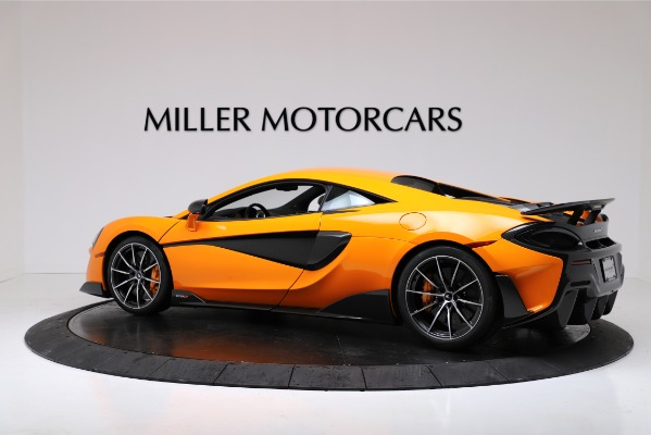 New 2019 McLaren 600LT for sale $279,310 at Pagani of Greenwich in Greenwich CT 06830 4