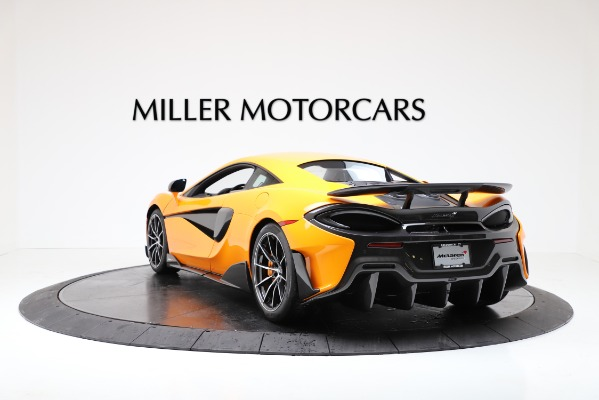 New 2019 McLaren 600LT Coupe for sale $279,310 at Pagani of Greenwich in Greenwich CT 06830 5