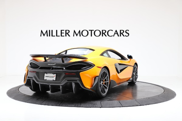 New 2019 McLaren 600LT for sale $279,310 at Pagani of Greenwich in Greenwich CT 06830 7
