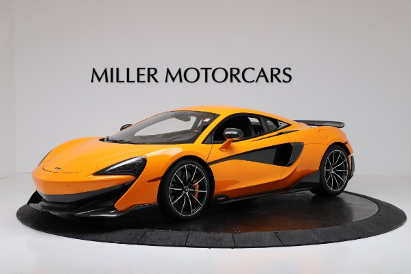 New 2019 McLaren 600LT for sale $279,310 at Pagani of Greenwich in Greenwich CT 06830 1