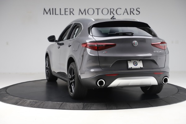 New 2019 Alfa Romeo Stelvio Ti Q4 for sale Sold at Pagani of Greenwich in Greenwich CT 06830 5