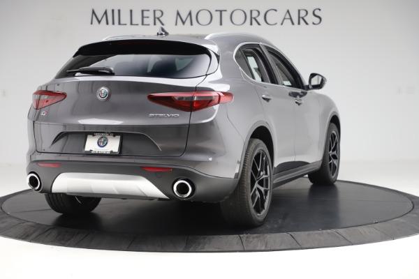 New 2019 Alfa Romeo Stelvio Ti Q4 for sale Sold at Pagani of Greenwich in Greenwich CT 06830 7