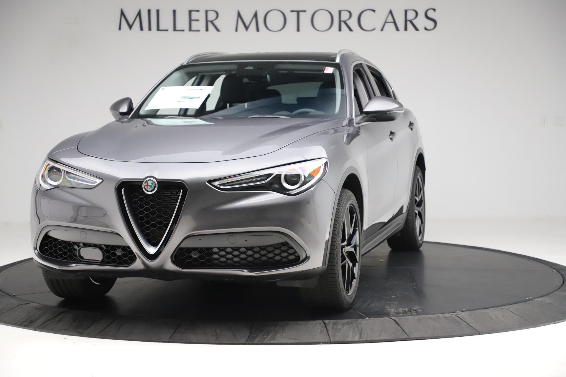 New 2019 Alfa Romeo Stelvio Ti Q4 for sale Sold at Pagani of Greenwich in Greenwich CT 06830 1
